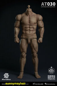 Worldbox 1/6 AT030 Super Strong Muscular Body 12inches Man Action Figure Doll