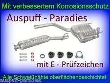 Abgasanlage Auspuff Mercedes Benz C-Klasse C220D W202 (202.121) Limousine +Kit