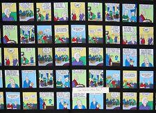 "Pickles Fabric - Funny Comic Blocks C1658 Black - Timeless Treasures 23"" Panel"