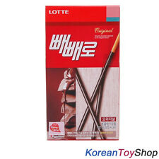 Korean Original Lotte Pepero 42g X 1 Pack Chocolate Stick Snack Biscuit M. Korea