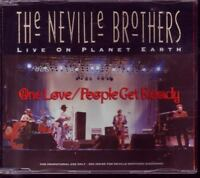NEVILLE BROTHERS One Love RARE 2 TRACK PROMO CD LIVE