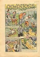 Fisher Caricature Ouverture de la Pêche Front Populaire France 1937 ILLUSTRATION