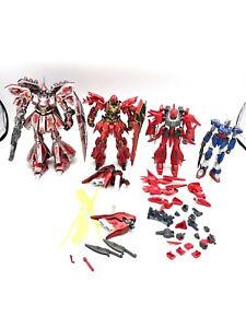 🌟 (4) Bandai HG 1/144 Sazabi Sinanju Re-bawoo Titanium Gundam Model Kit LOT