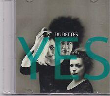 Dudettes-Yes Promo cd single