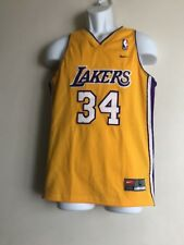 TEAM NBA LOS ANGELES Lakers  #34 O'NEAL  Jersey Youth Size L Lenght +2  NWT