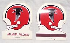 Atlanta Falcons-2 Helmet Shaped Nfl Matches-New-Collectors Item