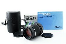 NEAR MINT in BOX MAMIYA SEKOR C 150mm F/4 Lens 645 SUPER M645 1000s From Japan