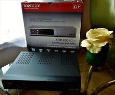 TOPFIELD CBP-2001 CI+  DIGITALER HDTV KABELRECEIVER / FERNBEDIENUNG / OVP