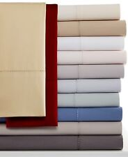 Hotel Collection 600TC Flat Sheet Egyptian Cotton QUEEN Burgundy 100% Cotton