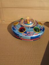 Vintage 1960's Space Explorer Ship X-7 Flying Saucer Japan Battery Operated Toy