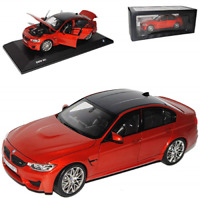 New Genuine BMW M3 F80 Miniature 1:18 Scale Sakhir Orange Model 2411553 OEM