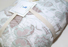 Pottery Barn Kids Multi Colors Green Brown Evelyn Butterfly Twin Quilt New