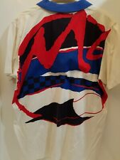 VINTAGE NIKE John McEnroe Checker McAttack Polo Shirt LARGE