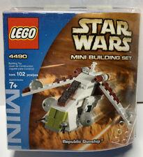Lego Star Wars 4490 Republic Gunship 102 pieces NEW! Sealed!