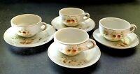 Vintage Child's Tea Set - Pinecone Pattern - Porcelain Lusterware - 8 Pieces