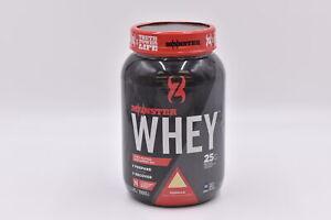 Monster Nutrition Whey Protein Supplement Powder, Vanilla, 2.2lb, EXP 11/2021