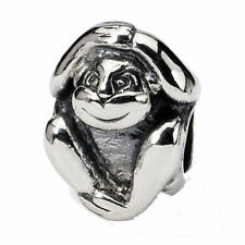 Reflections Sterling Silver Monkey Bead / Charm