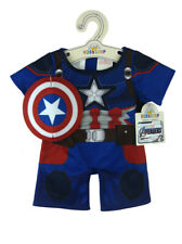 Build-A-Bear Captain America Costume Suit Marvel Comics Avengers New With Tags