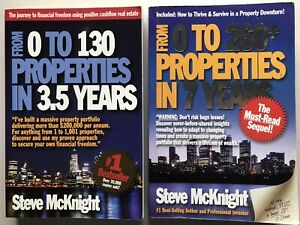 From 0 to 130 Properties in 3.5 Years: Steve McKnight x2 Book Bundle Real Estate