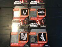 Lot of 4 Metal Earth Star Wars The Force Awakens Steel Model Kits