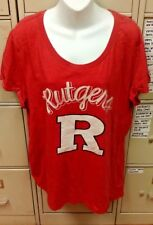 NCAA RUTGERS SCARLET KNIGHTS WOMENS SLEEVE SIZE 2X-LARGE 2XL BRAND NEW