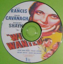 FILM NOIR 353: WIFE WANTED (1946) Phil Karlson Kay Francis, Paul Cavanagh