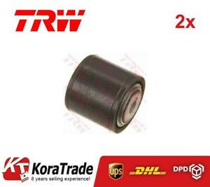 2x TRW JBU531 OUTER CONTROL ARM TRAILING ARM BUSH X2 PCS