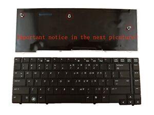 Keyboard compatible for HP Compaq EliteBook 8440p 8440w 594052-001 US Black