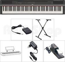 Yamaha P 125 B Digital E-Piano Klavier SET mit X-Stativ + Sustain Pedal + NT NEU