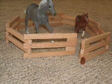 Wood Oak Barn Yard Fence Play Farm Miniature Village Day Care School Head Start