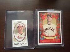 2017 MANNY MACHADO TOPPS ALLEN & GINTER #384 MINI EXCLUSIVE FROM RIP CARD