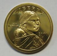 2000-S Sacagawea Golden Dollar Gem DCAM Proof Stunning Coin Bargain Priced