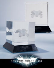 Batman The Dark Knight Rises Glass Etching The Bat - Paperweight