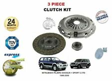 FOR MITSUBISHI PAJERO SHOGUN + SPORT 2.5TD IMPORT 1986-2009 3 PIECE CLUTCH KIT