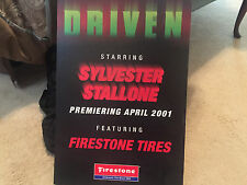 DRIVEN STARRING SYLVESTOR STALLONE PROMO STAND UP 24 X 16 2001 FIRESTONE TIRES