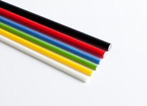 GFK-Stab Ø 2mm bunt Glasfaser Stab 3 Meter GFK 3000mm blau gelb rot schwarz weiß