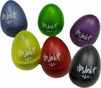 Jim Dunlop 9103TBK Black Egg Shaker 2 Pack