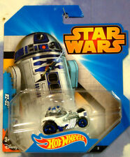 EXCELLENT Mattel Hot Wheels Star Wars R2 D2 R2D2 PERSONNAGE VOITURE