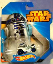 EXCELENTE Mattel Hot Wheels Star Wars R2 D2 R2D2 Personaje Coche Menta &