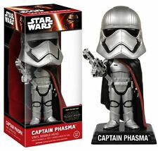 Star Wars Force Awakens Wacky Wobbler Captain Phasma Bobble Head Figure NEW Toys