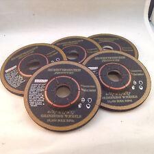 """Grinding Wheels Metal 4 1/2""""x1/4""""x7/8"""" 5 pack"""