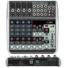 BEHRINGER XENYX Q1202USB mixer 12 ingressi per studio live karaoke