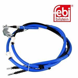 febi 109098 Handbrake Cable Rear For Vauxhall 24465148