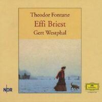 GERT WESTPHAL - THEODOR FONTANE-EFFI BRIEST  8 CD  HÖRBUCH  NEU