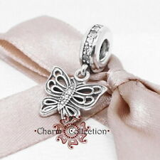 Pandora, S925 Vintage Butterfly Insect Pendant Charm, NEW,  791255CZ