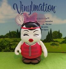 "Disney Vinylmation 3"" Park Set 5 Cutesters En Vogue Audrey Hepburn Red Dress"