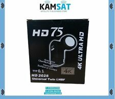LNB TWIN 4K UHD 40 mm 0.1dB ultra Full HD 3D SKY Hotbird THOR ASTRA