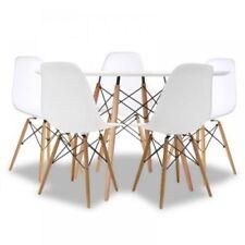 Mesas modernos blancos de madera para el hogar