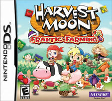 Harvest Moon Frantic Farming NDS New Nintendo DS, Nintendo DS