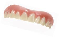 Cosmetic Snap On Teeth Secure Smile Instant Veneers Dental False Natural